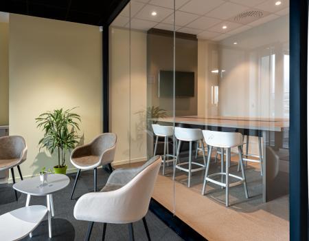 Aménagement de plateau de bureau -  salle de réunion - open space -isoloir  agence NEWDECO acoustique ergonomie audite expertise éclairage Bien-être des salariés, qualité de vie au travail, performance des entreprises, efficacité, productivité