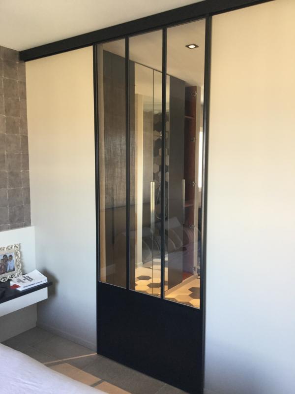 Etude et r alisation d 39 un projet de d coration chambre for Chambre parentale salle de bain dressing